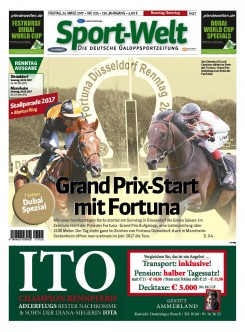 """Grand Prix-Start mit Fortuna"""