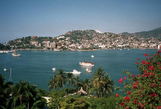 Acapulco in Mexico