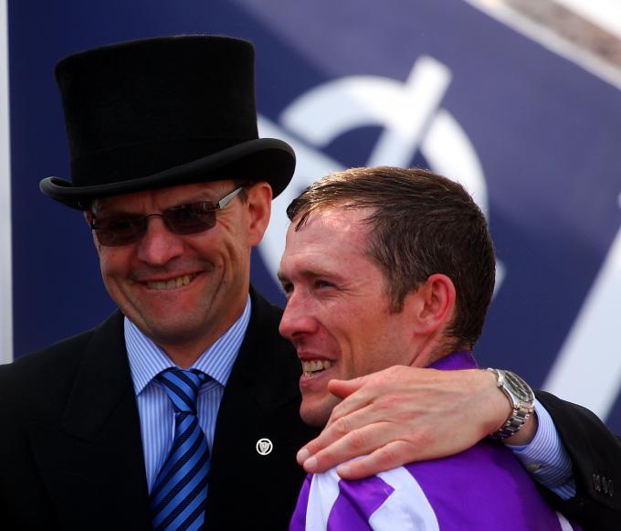 Aidan O'Brien (links)